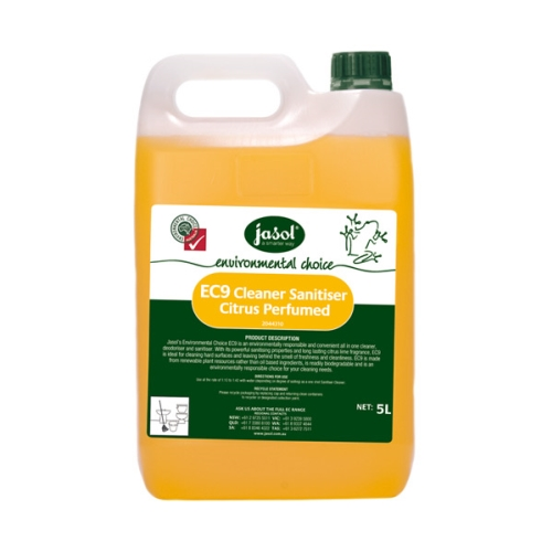 JASOL EC9 CITRUS CLEANER SANITISER 5Ltr