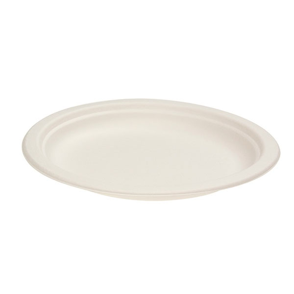 GREEN CHOICE SUGAR CANE DINNER PLATE 230mm 50slv