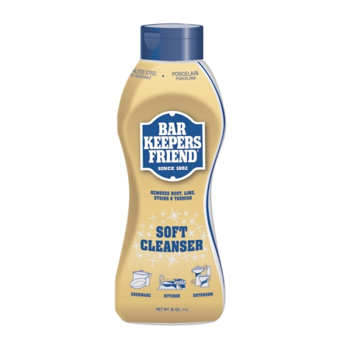 BAR KEEPERS FRIEND SOFT CLEANSER LIQUID LARGE 737g (GOLD)