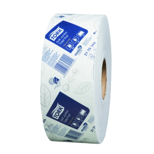 TORK ADVANCED 2ply JUMBO TOILET ROLLS 320m X 6rolls T1