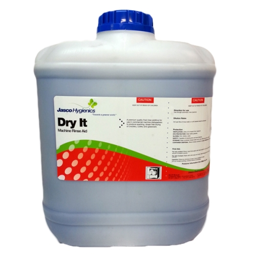 HYGIENICS DRY IT DISHWASHER RINSE AID 20Ltr