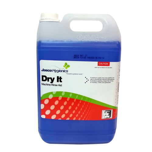 HYGIENICS DRY IT DISHWASHER RINSE AID 5Ltr