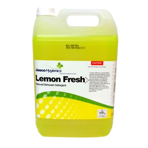 JASCO LEMON FRESH MANUAL DETERGENT 5Ltr