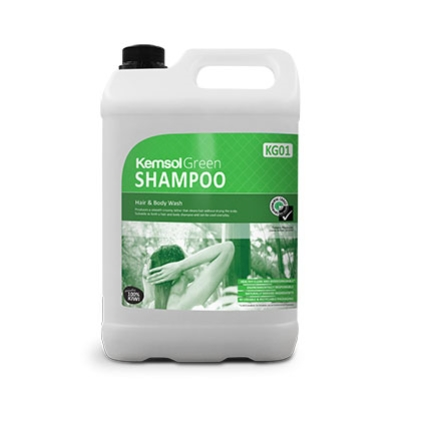 KEMSOL GREEN SHAMPOO HAIR & BODY WASH  5Ltr