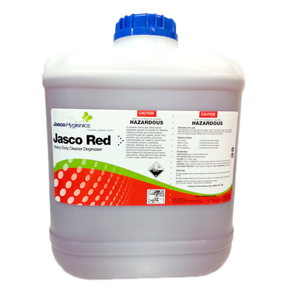 JASCO RED HD CLEANER DEGREASER 20Ltr