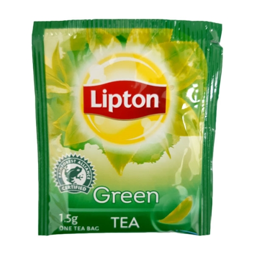 LIPTON GREEN TEA ENVELOPED TEABAGS 300ctn