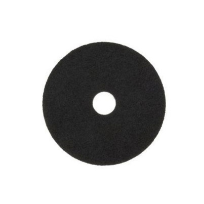 "3M 7200 FLOOR PAD 16""/40cm BLACK STRIPPING"