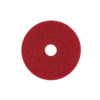 "3M 5100 FLOOR PAD 16""/40cm RED BUFFING"