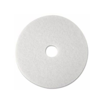 "3M 4100 FLOOR PAD 16""/40cm WHITE SUPER POLISH"