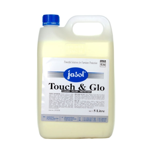 JASOL TOUCH & GLO FURNITURE POLISH  5Ltr