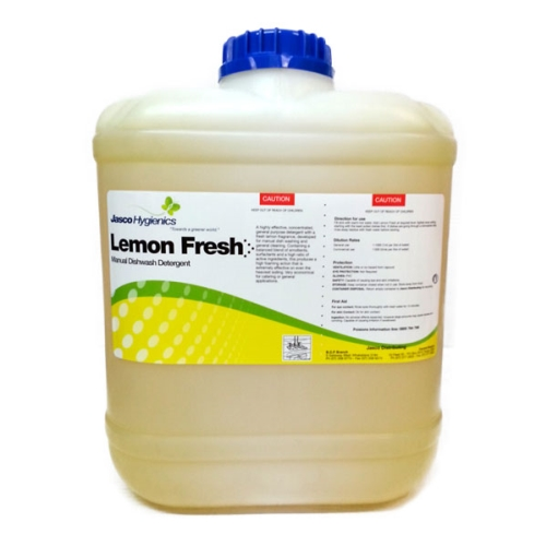 JASCO LEMON FRESH MANUAL DETERGENT 20Ltr