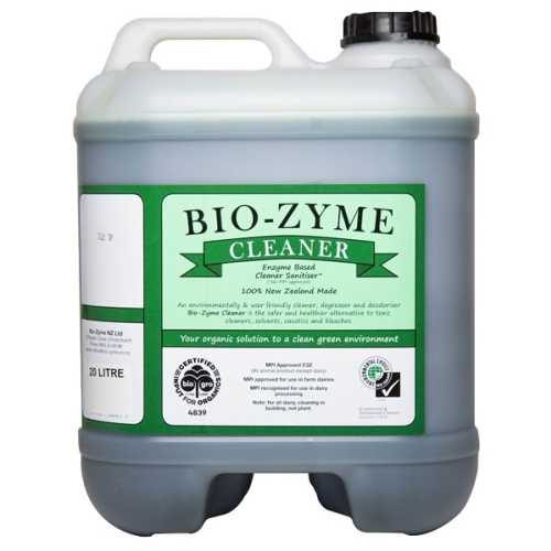 BIOZYME ENZYMATED CLEANER (Green Label) 20ltr