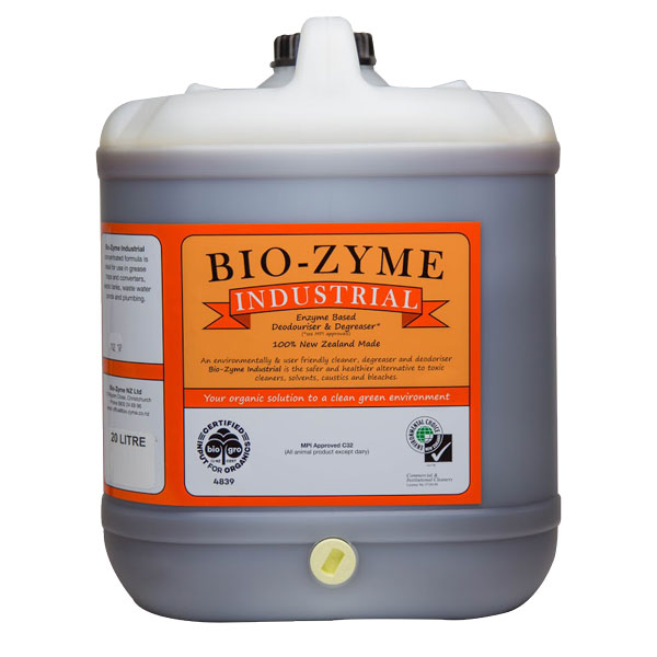BIOZYME INDUSTRIAL ENZYMATED DEGREASER  20ltr