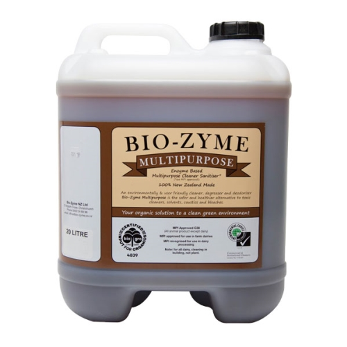 BIOZYME MULTIPURPOSE ENZYMATED CLEANER (Brown Label) 20Ltr