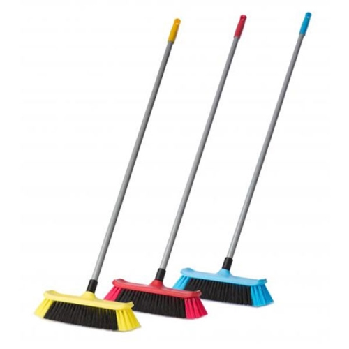 BROWNS STANDARD HOUSE BROOM + ALLOY HANDLE