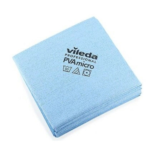 VILEDA PVA MICRO CLOTH BLUE for GLASS & CHROME