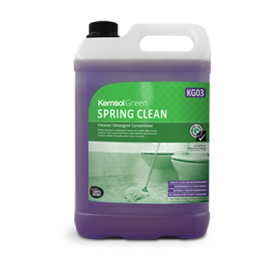 KEMSOL GREEN SPRING CLEAN SPRAY N WIPE 5Ltr