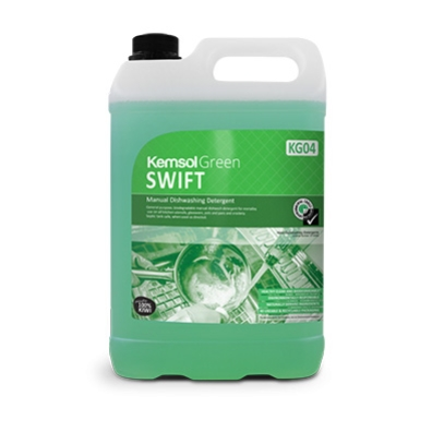 KEMSOL GREEN SWIFT DISHWASH LIQUID  5Ltr