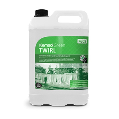 KEMSOL GREEN TWIRL LAUNDRY LIQUID 5Ltr