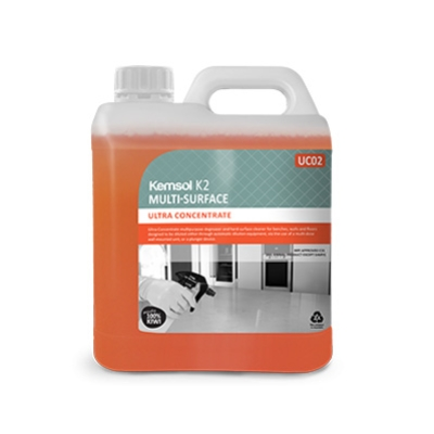 KEMSOL K2 ULTRA CONCENTRATE SURFACE CLEANER 2Ltr