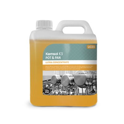 KEMSOL K3 ULTRA CONCENTRATE POT & PAN CLEANER 2Ltr