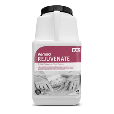 KEMSOL REJUVENATE NAPPY & FABRIC SANITISER 5kg