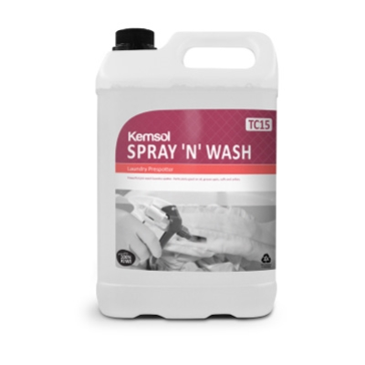 KEMSOL SPRAY & WASH LAUNDRY SPOTTER 5Ltr