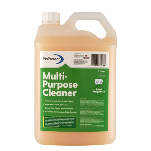 BIOPROTECT MULTIPURPOSE BIO-ACTIVE CLEANER MINT 5Ltr