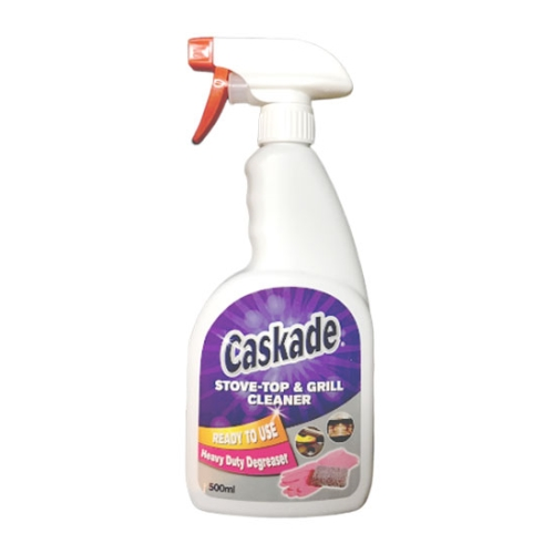 CASKADE STOVE TOP & GRILL CLEANER 500ml