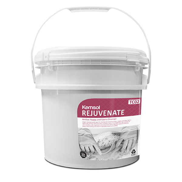 KEMSOL REJUVENATE NAPPY & FABRIC SANITISER 10kg