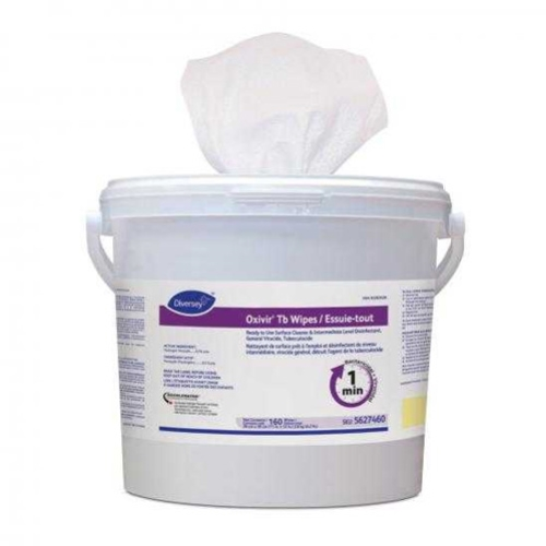 OXIVIR-TB SURFACE SANITISER WIPES LARGE 28x30cm 160/TUB