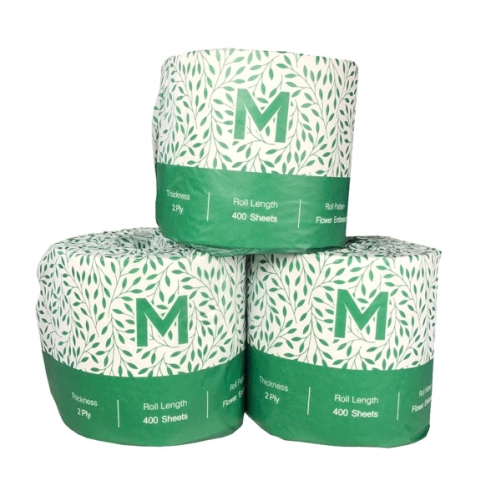 M-SERIES 100% RECYCLED TOILET TISSUE 2ply 400s X 48rl FSC