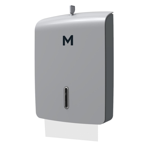 M-SERIES SLIMFOLD TOWEL DISPENSER TALL SILVER