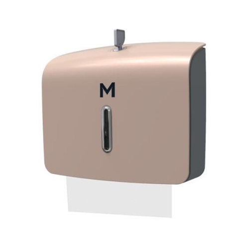 M-SERIES SLIMFOLD TOWEL DISPENSER MINI GOLD