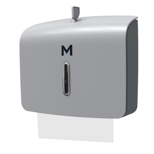 M-SERIES SLIMFOLD TOWEL DISPENSER MINI SILVER