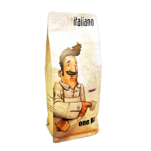CAFFE ITALIANO ROSSO WHOLE BEAN COFFEE 1kg