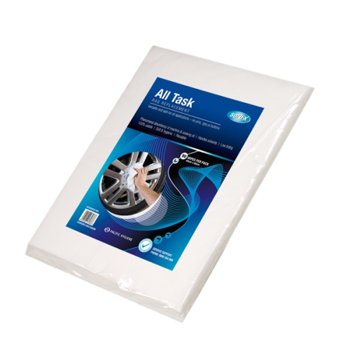SORB-X ALL-TASK INDSTRIAL RAG WIPES WHT x 90pk