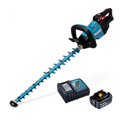 MAKITA 18V LXT BRUSHLESS HEDGE TRIMMER 600mm 5.0Ah KIT