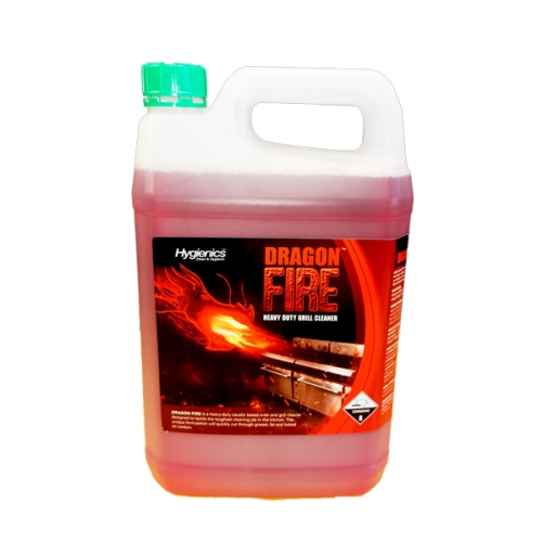 HYGIENICS DRAGON FIRE HEAVY DUTY GRILL CLEANER 5Ltr DG