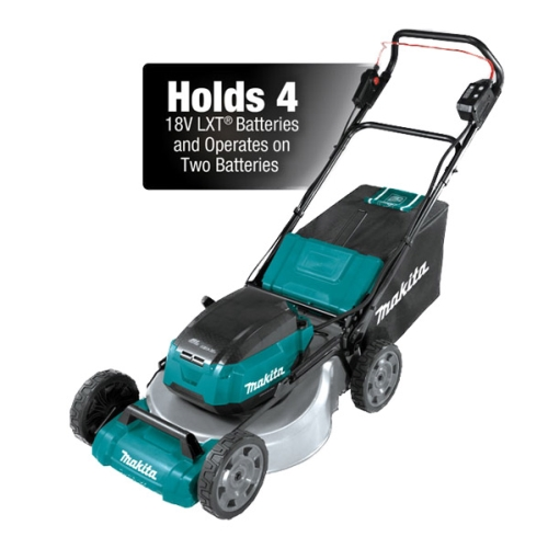 "MAKITA LTX BRUSHLESS LAWN MOWER 21""/530mm 2x18v 5Ah KIT"