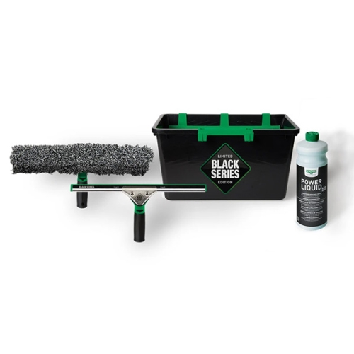 UNGER BLACK SERIES WINDOW CLEANING KIT