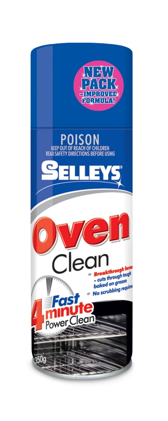 SELLEYS OVEN CLEAN AEROSOL 350g CAN