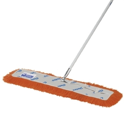 OATES MODACRYLIC DUST MOP 910mm WITH FRAME & HANDLE