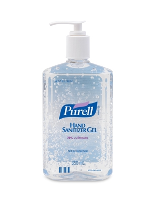 PURELL GEL HAND SANITISER GREEN CERT 354ml PUMP DGLQ