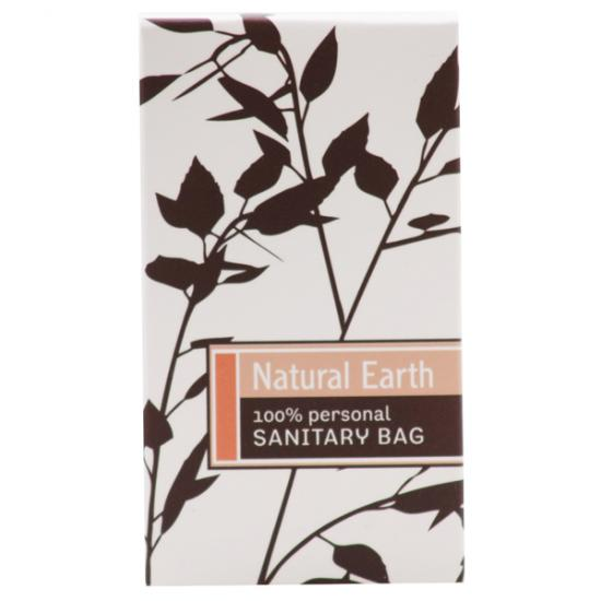 NATURAL EARTH SANITARY BAG 250ctn