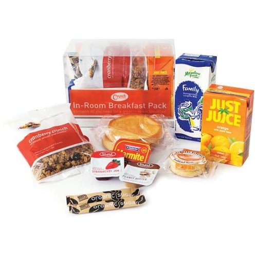 HP CRUNCH KITCHEN BREAKFAST PACK x 8 ctn