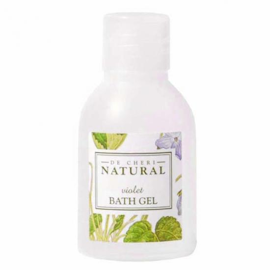 DE CHERI NATURAL BATH GEL BOTTLES 252ctn