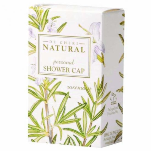 DE CHERI NATURAL SHOWER CAPS 250ctn