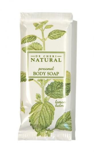 DE CHERI NATURAL PLASTIC WRAPPED SOAP 15g 500