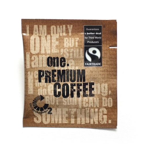 ONE FAIRTRADE INSTANT COFFEE SACHETS 250
